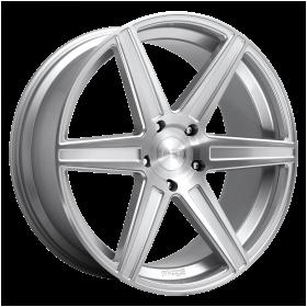 Niche Custom Wheels M235 CARINA GLOSS SILVER BRUSHED