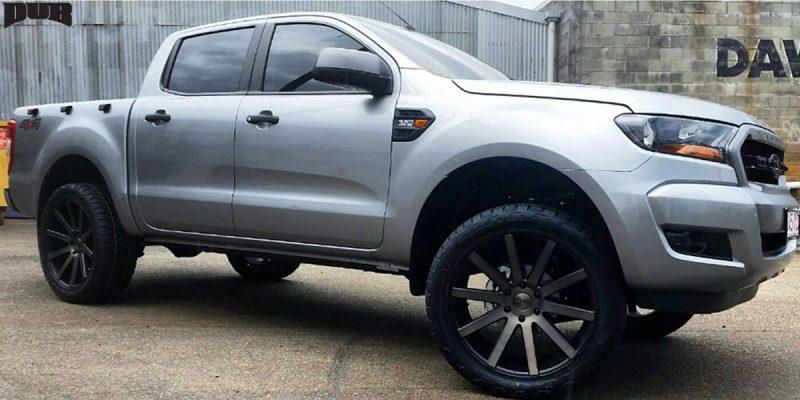 Ford Ranger 22x9.5 DUB Shot Calla S121 Wheels