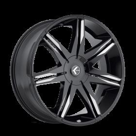 EPIC KR143 BLACK/MILLED