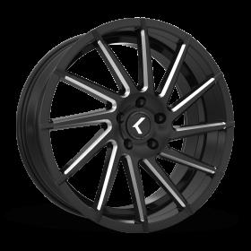 SPINNER KR181 BLACK/MACHINED