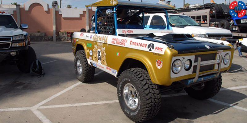 Ford Bronco 15x9 USMags Indy U101 Truck Wheels