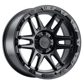 Black Rhino Custom Wheels APACHE MATTE BLACK W/BLACK BOLTS