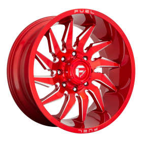 D745 SABER CANDY RED MILLED