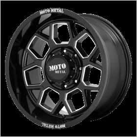 MO803 GLOSS BLACK MILLED