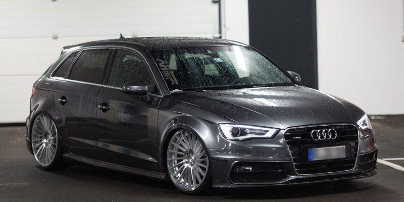 Audi A3 Rotiform IND-T Wheels