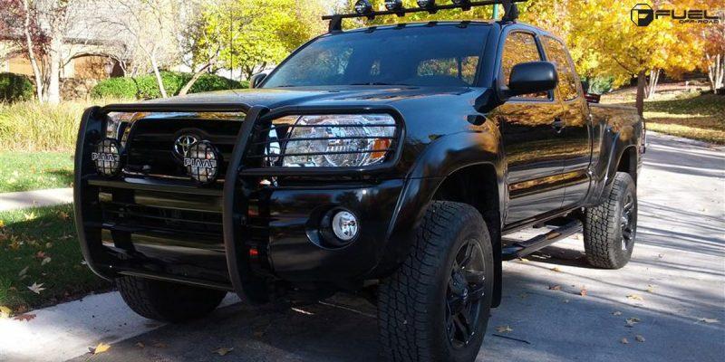 Toyota Tacoma 18x9 Fuel Pump D515 Wheels