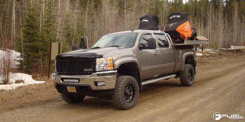 Chevrolet Silverado 1500 18x9 Fuel Boost D534 Wheels