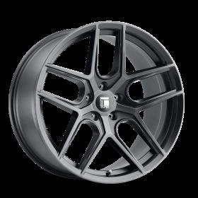 Touren Wheels TR79 BRUSHED MATTE BLACK W/ DARK TINT