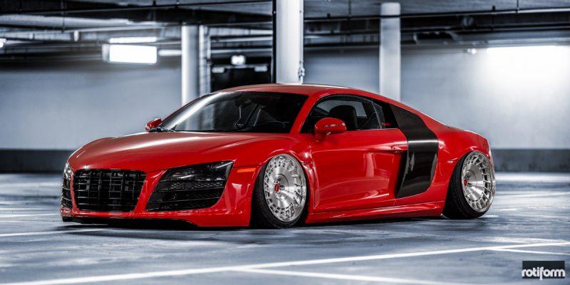 Audi R8 Rotiform CBU Wheels