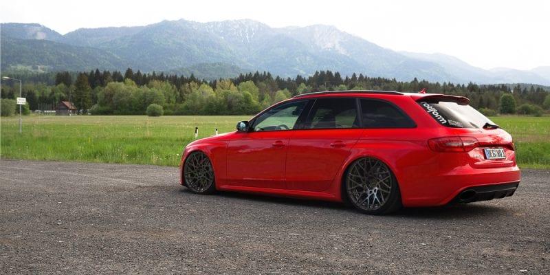Audi A4 All-Road Rotiform BLQ-T Wheels