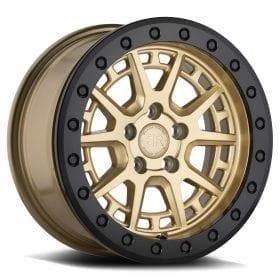 Black Rhino Wheels GRAVEL BEADLOCK MATTE BLACK W/ BLACK RING AND BOLTS