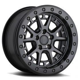 Black Rhino Wheels GRAVEL BEADLOCK MATTE BLACK W/ MACHINED RING AND BLACK BOLTS