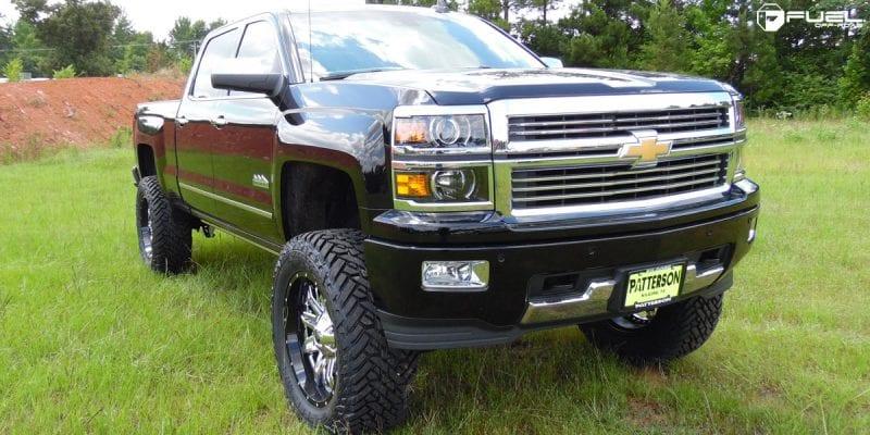 Chevrolet Silverado 2500 HD 22x10 Fuel Lethal D266 Wheels