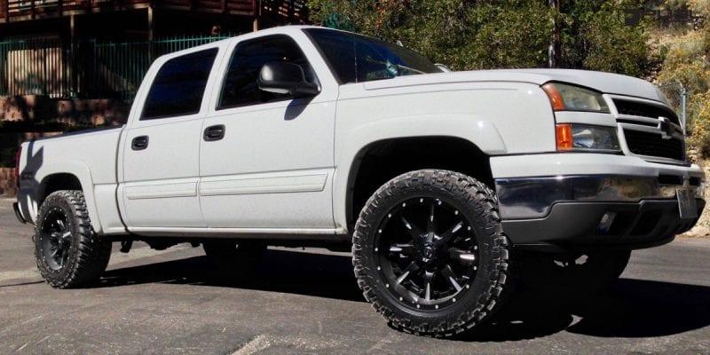Chevrolet Silverado 2500 20x9 Fuel Nutz D251 Wheels