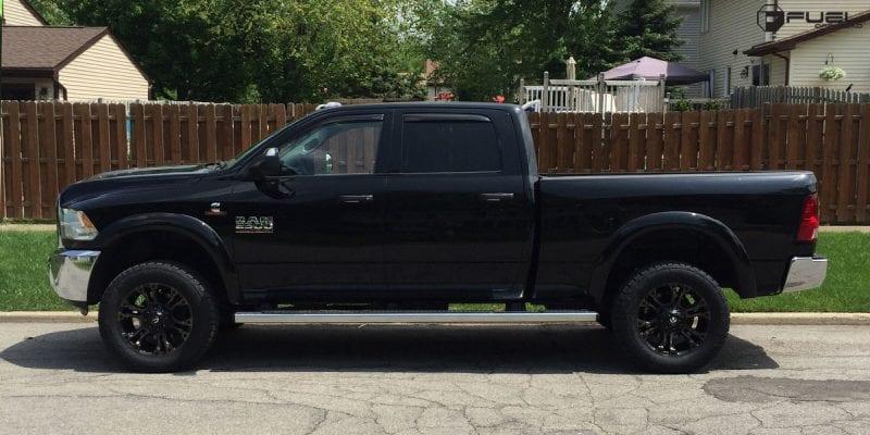 Dodge Ram 2500 20x10 Fuel Vapor D569 Wheels