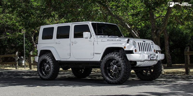 Jeep Rubicon 24x11 Fuel Hostage D531 Wheels