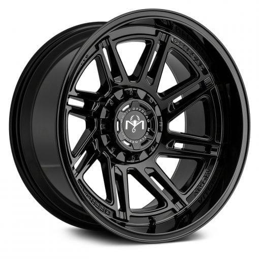 Motiv Offroad Wheels 425B GLOSS BLACK