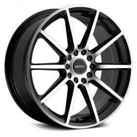 Motiv Wheels 431MB ELICIT GLOSS BLACK MACHINED FACE