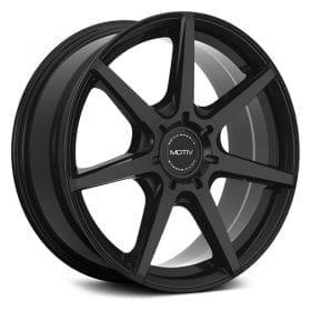 Motiv Wheels 432B RIGOR GLOSS BLACK