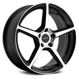 Motiv Wheels 433MB BLADE GLOSS BLACK MACHINED FACE