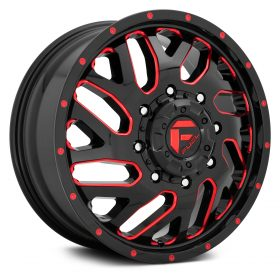 D656 TRITON GLOSS BLACK RED TINTED CLEAR