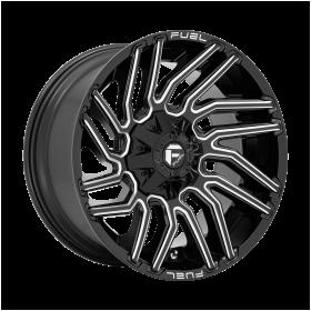 D773 TYPHOON Gloss Black Milled
