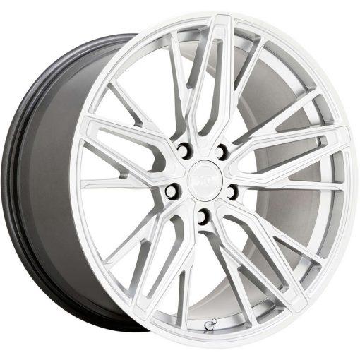 XO Wheels ZURICH HYPER SILVER W/ MIRROR CUT FACE